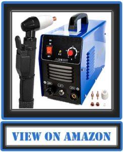 Biltek 50Amp Air Plasma Cutter, 1/2 Inch Cut 110V/220V Input CUT50D DC Inverter Dual Voltage with Pre-Installed 110V US Plug, Portable & Easy Quick Setup Metal Cutter