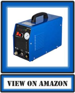 Mophorn 50Amp Plasma Cutter Dual Voltage 110V/220V Portable Plasma Welder Plasma Cutting Machine CUT50F Inverter Digital Plasma Welding Machine(50 AMP 110V/220V)