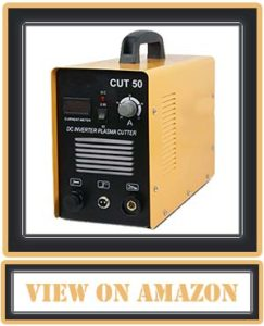"""SUPER DEAL DC Inverter Plasma Cutter Welding Machine With Screen Display Dual Voltage 110/220V AC 1/2"""" Clean Cut (CUT 50)"""