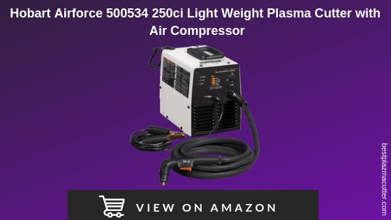 Hobart Airforce 250ci Light Weight Plasma Cutter with Air Compressor