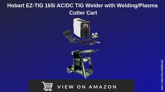 Hobart Tig Welder >> Review Hobart Ez Tig 165i With Welding Plasma Cutter Cart
