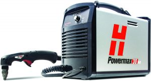 Hypertherm Powermax 30 plasma cutter with air compressor